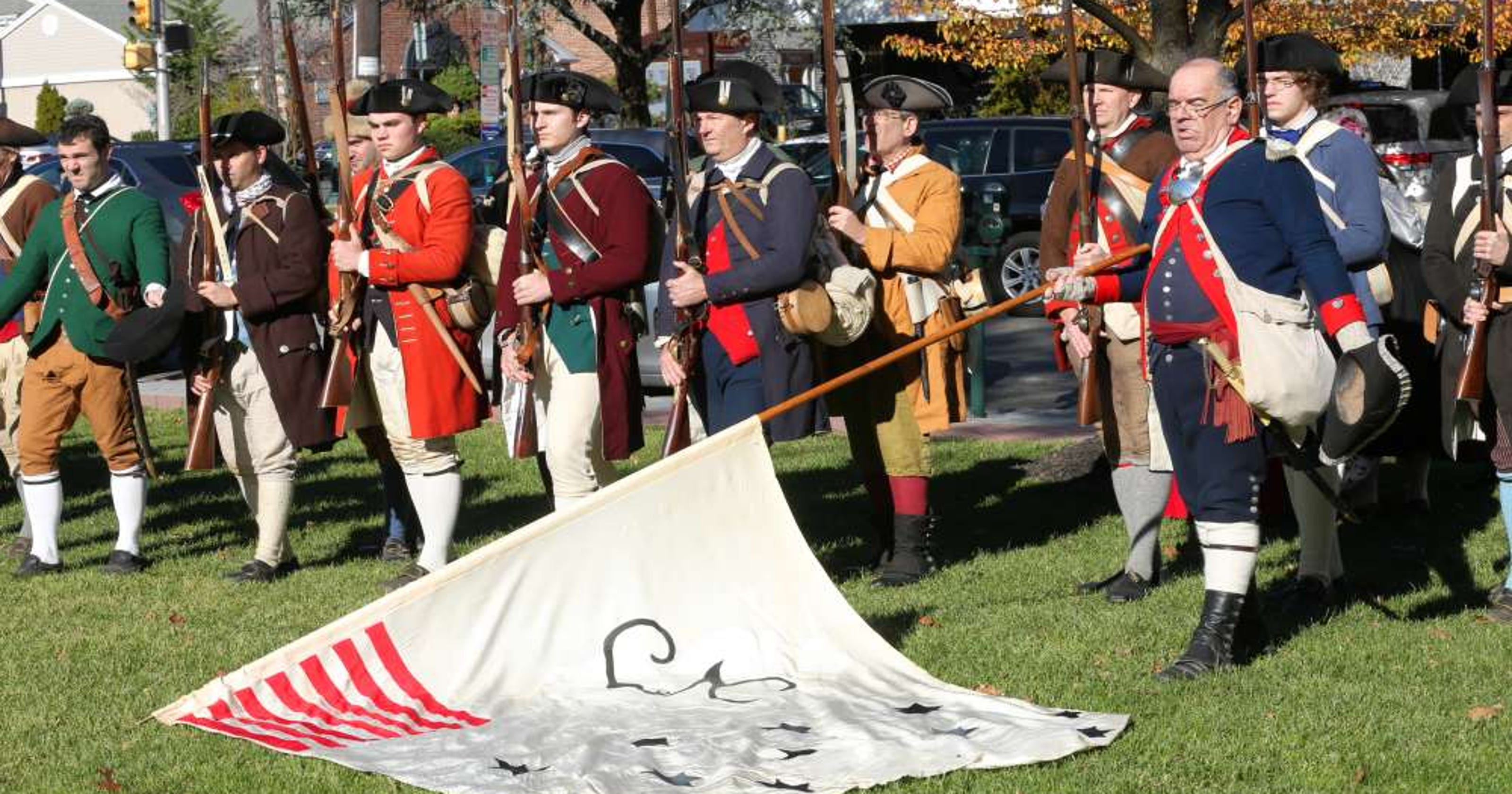 Revolutionary War reenactment in Fort Lee wins award