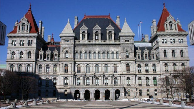New York counties had their first increase in sales-tax revenue in four years.
