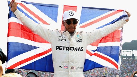 10 sensational Lewis Hamilton celebration photos from his 4 F1 world titles