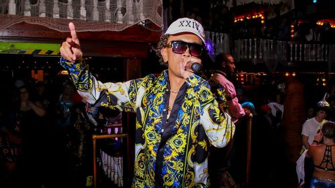 DJ Mr. Lao — as Bruno Mars — emcees Seville Quarter's annual Halloween costume contest on Tuesday. You can catch DJ Mr. Lao at Seville Quarter on Friday, Saturday and Thursday nights.