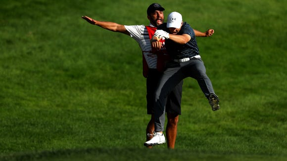 Watch the 12 best golf shots of 2017 in one awesome video