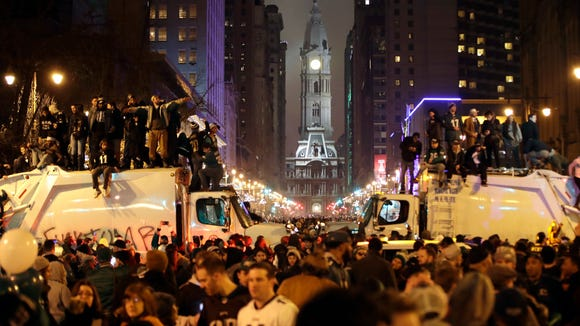 Philadelphia mayor says 'knuckleheads' should skip Super Bowl parade
