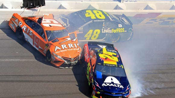 Dale Jr. explains why Jimmie Johnson's slow start isn't a big deal