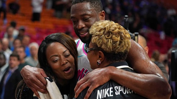 Dwyane Wade gave custom shoes and Heat jersey to Parkland shooting victim's parents