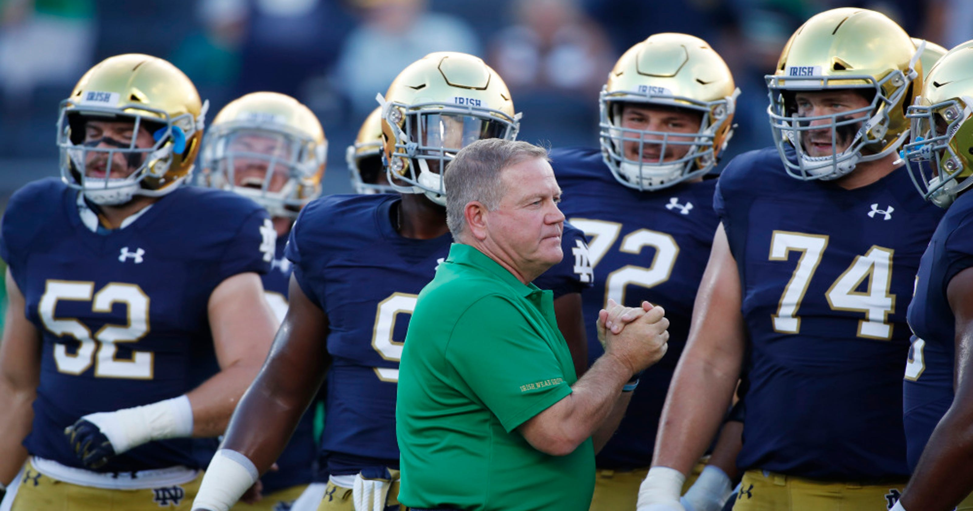 Notre Dame's power broker role in college football remains ...