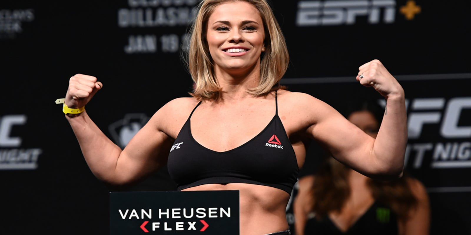 Allie Ayers Nude sports illustrated swimsuit issue: ufc's paige vanzant to be