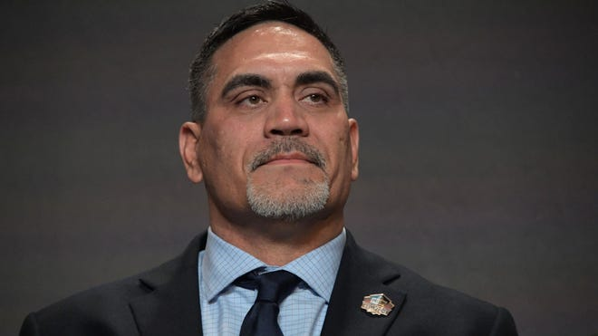 Kevin Mawae, fomrer NFL and LSU football player, was inducted into the Pro Football Hall of Fame Saturday. USA Today File Photo