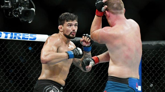 Live UFC fights are available to watch on ESPN+