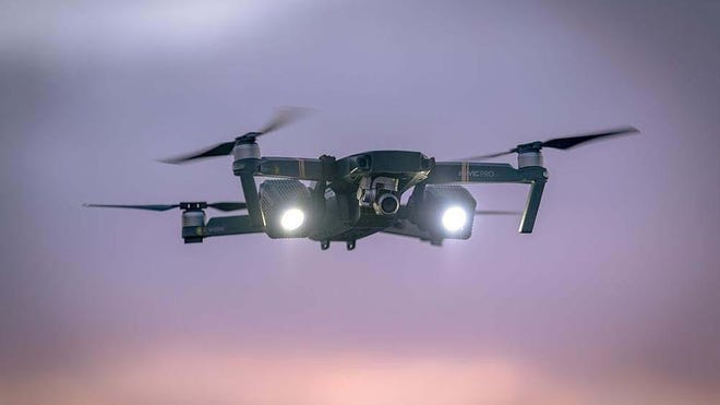 The Mavic Pro drone will be used by Palm Beach Police to help combat crime and to assist Palm Beach Fire Rescue.