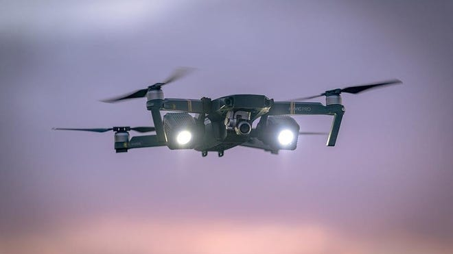 The Mavic Pro was the first drone purchased by the police department.