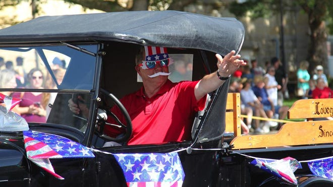 Daily Express file photo from the 2019 Fourth of July parade in Kirksville.