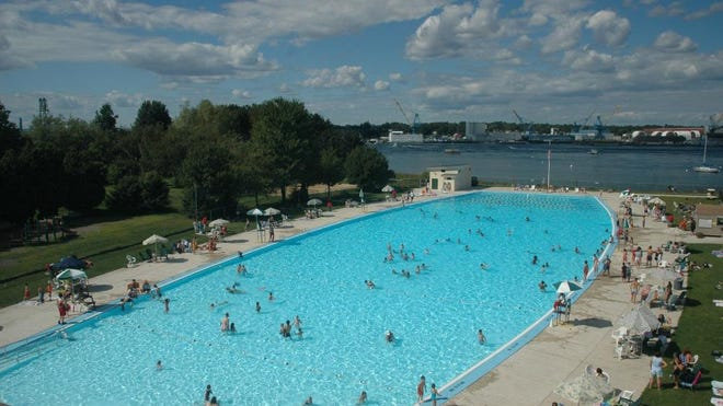 Portsmouth city officials are preparing to open the Peirce Island Outdoor Pool for the summer on Monday, July 6.