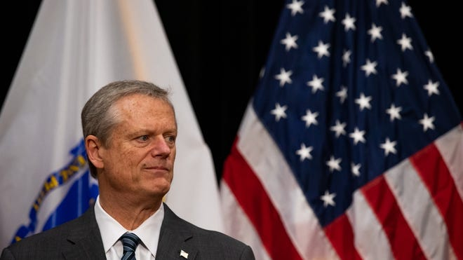 "Gov. Charlie Baker said Wednesday that the report on COVID-19 veteran deaths at the Holyoke Soldiers' Home was ""hard to read"" and called its contents ""nothing short of gut-wrenching."""