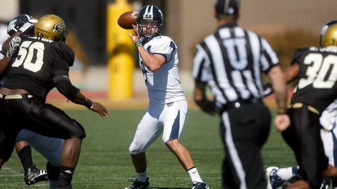 Dane Simoneau, who threw for more than 11,000 yards at Washburn from 2007-11, is set for his first season as the Ichabods' offensive line coach and co-offensive coordinator this fall.