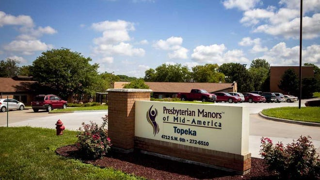 Twelve residents and employees recently tested positive for the coronavirus at Topeka Presbyterian Manor, 4712 S.W. 6th Ave., which is operated by Presbyterian Manors of Mid-America.