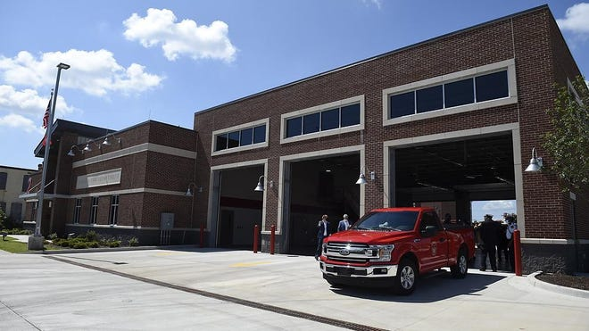 The new Augusta Fire Department's Station #2 officially opened in Augusta, Ga., Friday morning July 10, 2020.