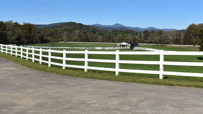 One of the many views at Horse Shoe Farms shown in this 2018 file photo.