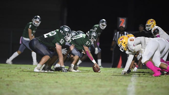 Greenbrier football game against Clarke Central at Greenbrier High School in Evans, Ga., Friday evening October 30, 2020.