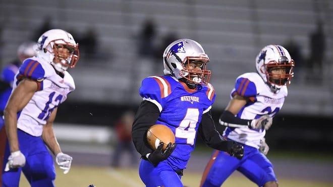 The Westside High School football team takes on Oglethorpe County High School in Augusta, Ga., Friday evening November 20, 2020.