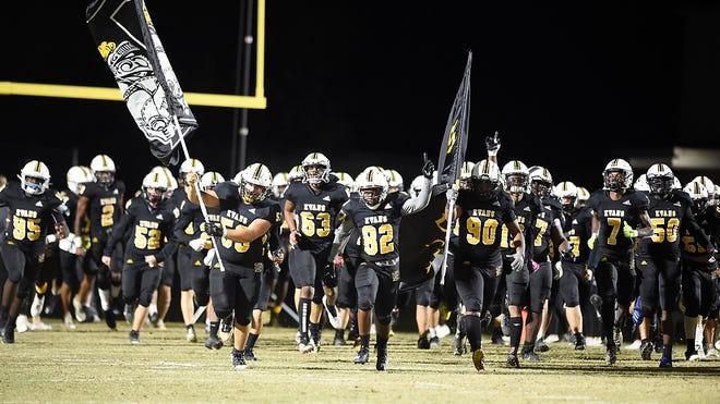 Photos from the Evans High School vs. Statesboro football game in Evans, Ga., Friday evening November 27, 2020.