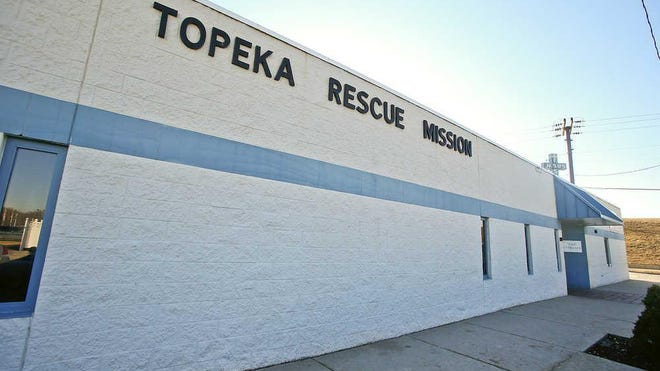 The Topeka Rescue Mission, shown here at 600 N. Kansas Ave., was among nonprofits asking for donations as part of Tuesday's observance of Giving Tuesday.