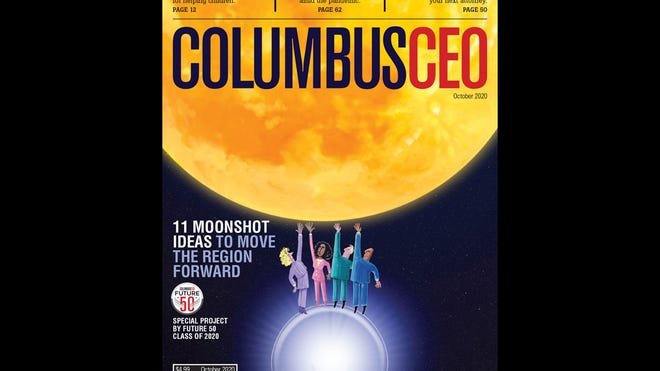 The October 2020 issue of Columbus CEO