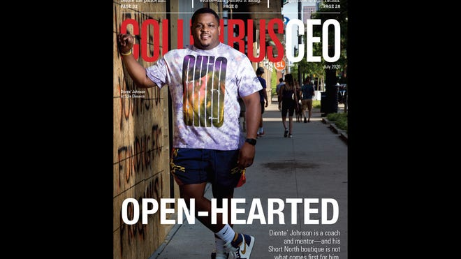 The July 2020 cover of Columbus CEO