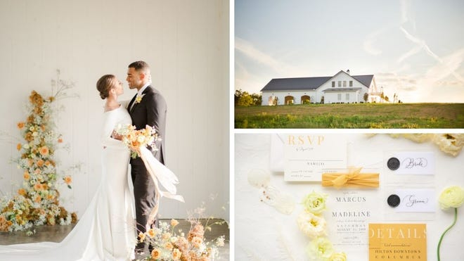 Marcus Brodie and Madeline Grube at Magnolia Hill Farm