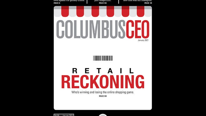 The January 2021 cover of Columbus CEO