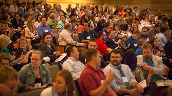 Hosted by YPF, Leaderfest 2014: Dare to Dream Differently brought together over 300 young professionals from throughout Northeast Wisconsin for a day of professional development and social networking.