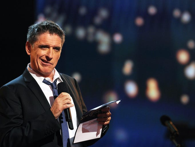 Scottish-US actor Craig Ferguson poses in the press