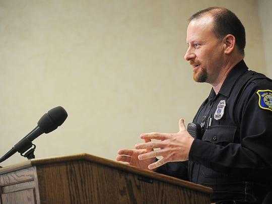 Officer Ryan Chase, with the Sioux Falls Police Department,