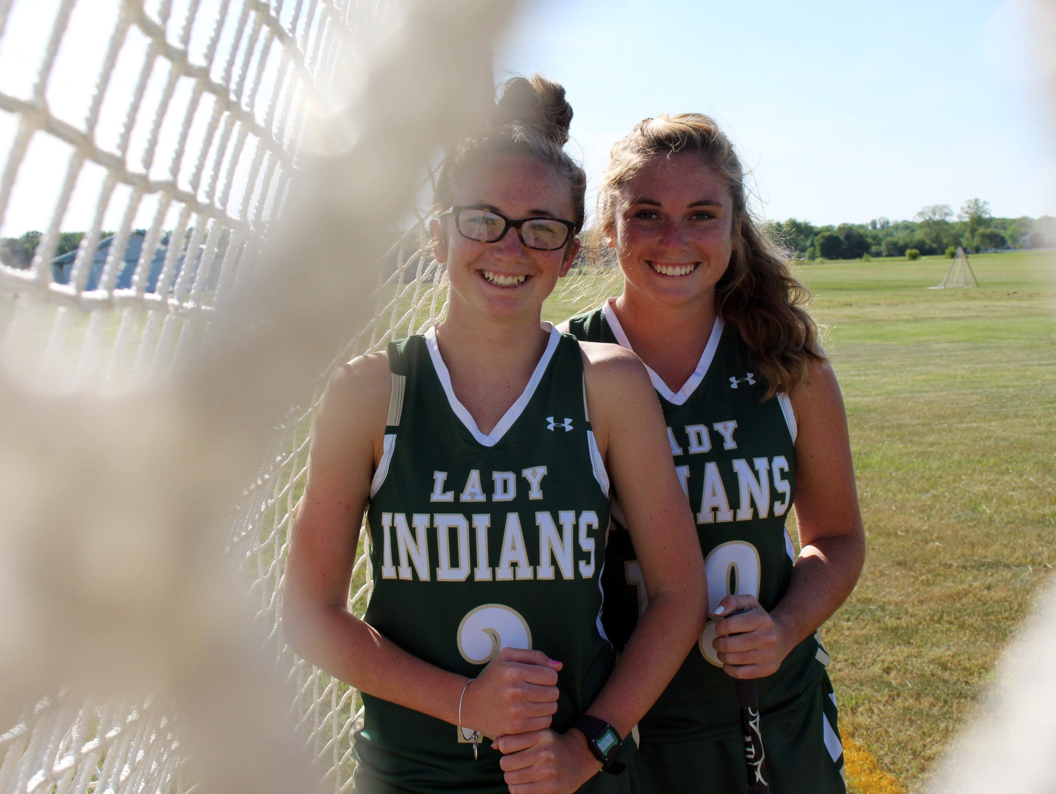 Lacrosse at Indian River High School gave the Allison sisters, Kealey and Maggie, something that they never thought would happen — playing on the same lacrosse team.
