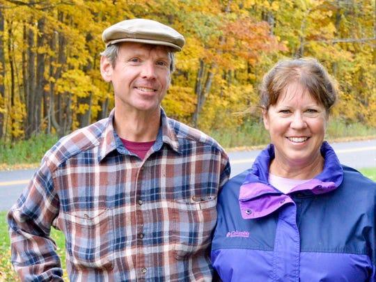 Steve and Marie Deibele own Golden Bear Farm in Kiel raising 100%-grass-fed beef and pastured pork.