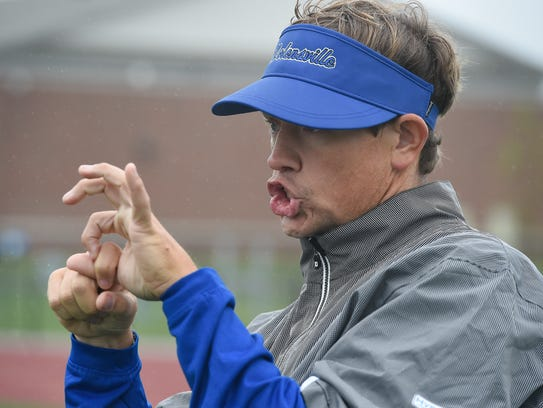 Nolensville football coach Will Hester's diet is currently