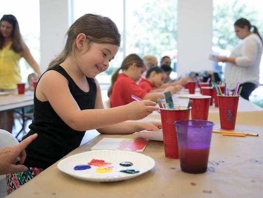 The Children's Art Festival at the Vero Beach Museum of Art is 10 a.m. to 3 p.m. Saturday at 3001 Riverside Park Drive.