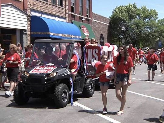 The annual Fourth of July Holiday Parade will again