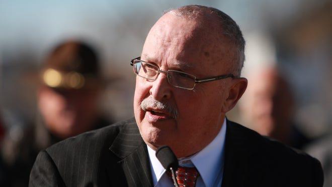 The Beech Grove incumbent, Dennis Buckley.