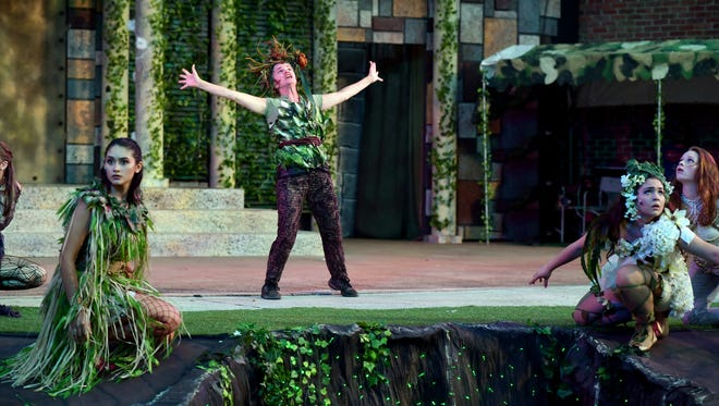 """SHAKESPEARE IN THE PARK presented """"A MIDSUMMER NIGHT'S DREAM"""" in August and September:"""