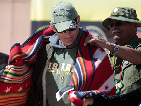 Vietnam Veterans Remembrance Honor Walk participant