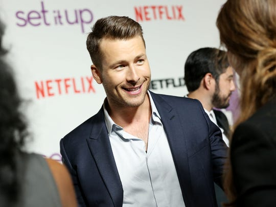 Glen Powell is feeling the need for speed: He's going