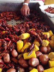 Bubba Gandy Seafood & Cajun Market provided 400 pounds of crawfish with all the fixings.
