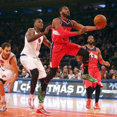 Dec 25, 2014; New York, NY, USA; Washington Wizards