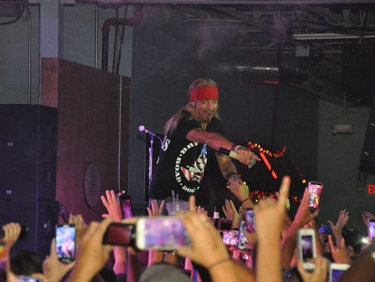 Bret Michaels rocks the crowd at The Ranch in April