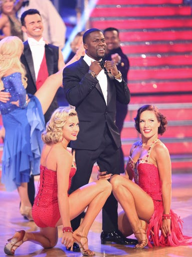 The first guest judge of Season 19 showed up during Week 3. Comedian/actor Kevin Hart was hilarious as he shouted out his scores and heaped praise on everyone. USA TODAY's Ann Oldenburg is following all the 'DWTS' action.