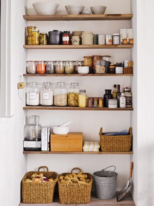 The advantage of a well-organized pantry? You can see everything.
