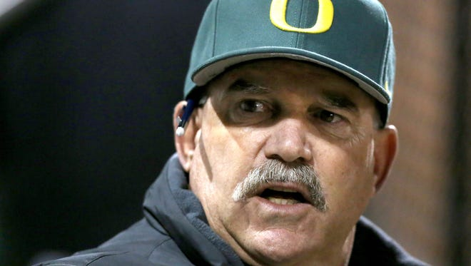 Oregon has parted with baseball coach George Horton.