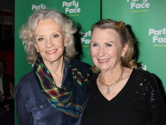 Hayley Mills and sister Juliet Mills at the Opening