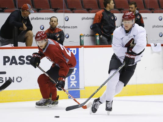 Coyotes rookie camp
