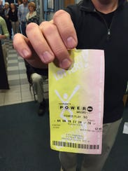 This ticket matched all numbers except the Powerball.
